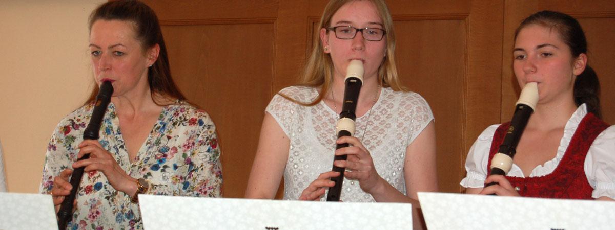 Schülerkonzert Blockflöte mit Hannah Beate König
