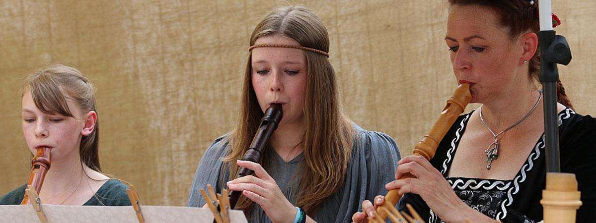Flöte spielen mit Hannah Beate König, Flötenunterricht