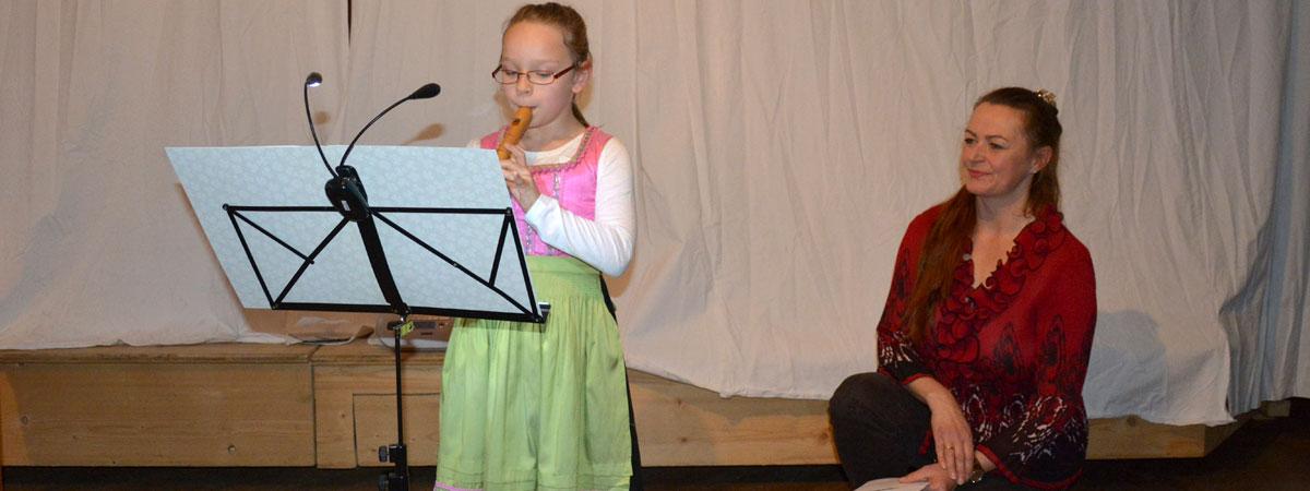 Flötenvorspiel Blockflöten-Unterricht bei Hannah Beate König