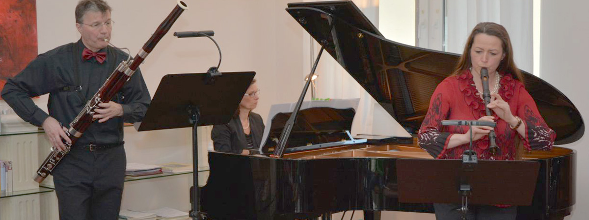 Hannah-Beate Koenig im Konzert Blockflöte