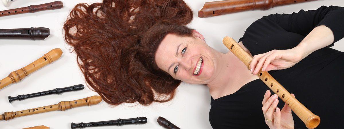 Hannah Beate König, Blockflöte, Bassblockflöte, Sopranblockflöte, Tenorblockflöte, Blockfötenunterricht