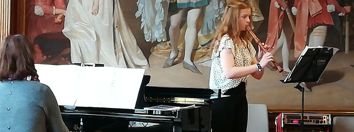 Jugend musiziert, Blockflöte lernen bei Hannah Beate König